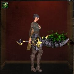 Laedis Hero Two-Handed Sword - Level 94