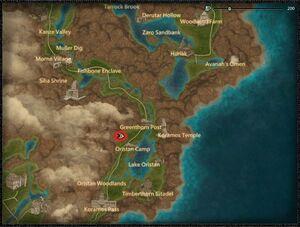 Golden Shield location