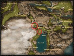 Earthen stonewing dragon location