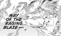 Tachibana Rintaro Raging Blaze