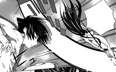 Makoto ataca a Rintaro es los baños