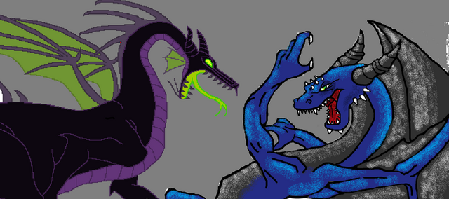 File:Tyler the dragon vs maleficent by tylerthdragon-d5wdt2g.png