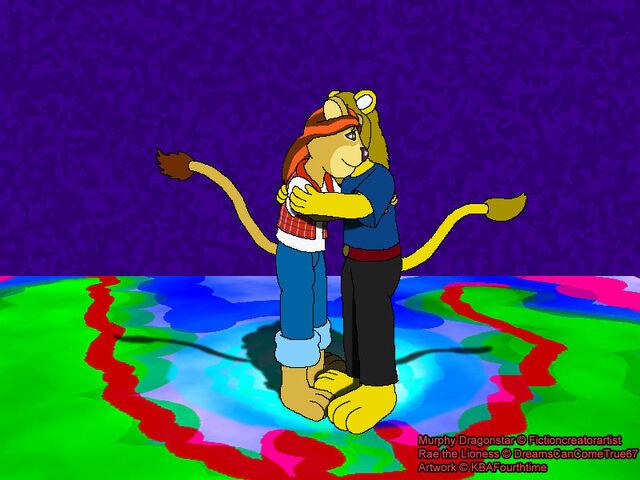 File:Murphy and rae hug by kbafourthtime-d5jby8i.jpg