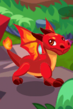 Fire Dragon Adult