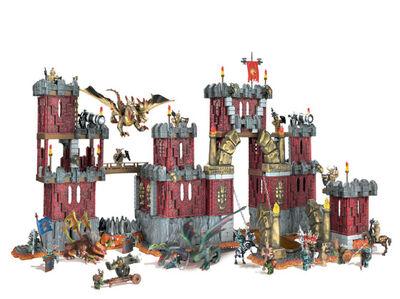 Mega bloks dragons draigar castle 1