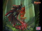 Fireptile, Plains Dragon