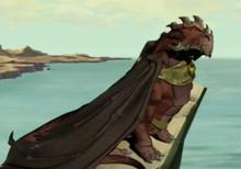 Targon's appearance in movie