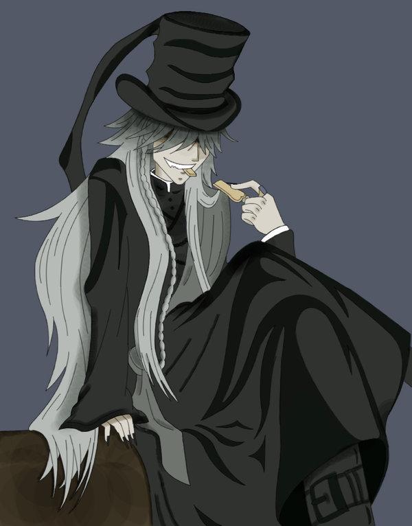 Kuroshitsuji the Undertaker by dragonea89