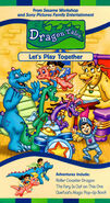 Dragon Tales - Let's Play Together VHS Cover
