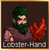 Lobster-hand