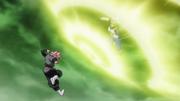Vegeta Black brief clash