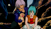 Trunks saves Bulma
