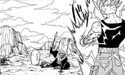 Trunks defeat Babidi's Forces