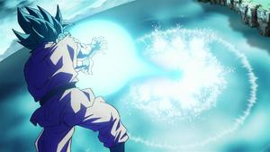 SSGSS Goku Kamahameha