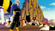 Trunks kills off Freeza henchmen