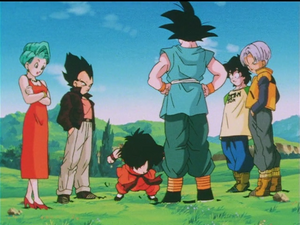 Trunks FamilyMeets withGokue