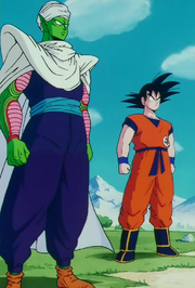 Piccolo and Gokū