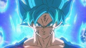 Super Saiyan Blue Goku (Broly)