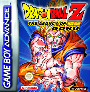 Dragon Ball Z Legacy of Goku Packshot