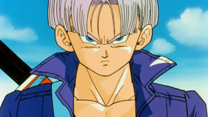 Trunks DBZ mugshot