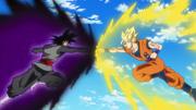 Son Goku vs Goku Black 1st fight