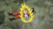 Trunks mourning for Gohan