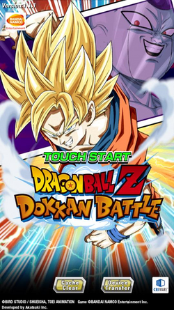 Dragon Ball Z- Dokkan Battle English Screen