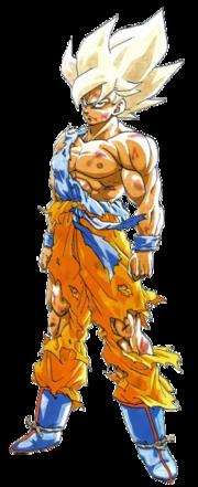 Super Saiyan Son Goku manga