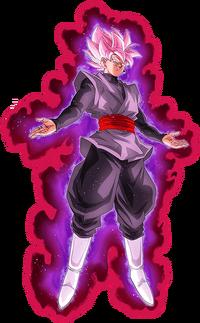 Super Saiyan Rose Render