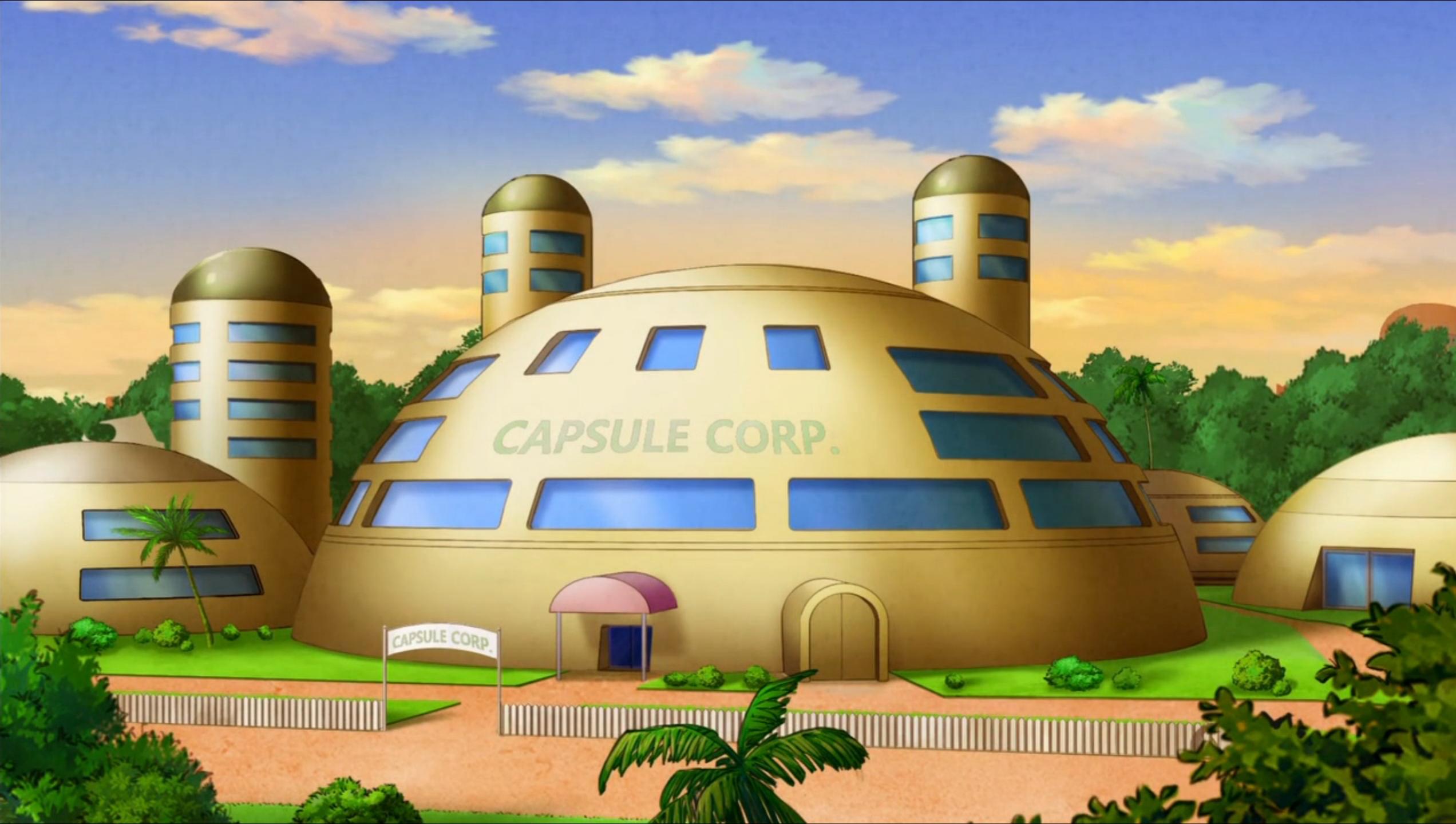 Resultado de imagem para capsule corp