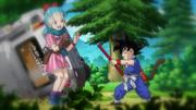Goku meets Bulma BoG