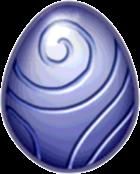 Silver Dragon Egg