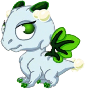 Mistletoe Dragon Baby