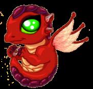 Ruby Dragon Baby
