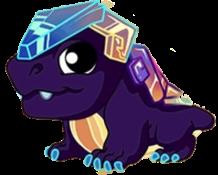 Bismuth Dragon Baby