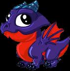 Obsidian Dragon Baby