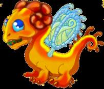 Amber Dragon Adult