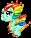 Glass Dragon Baby