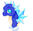 Snowflake Dragon IV Baby
