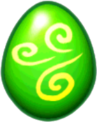 Orchid Dragon Egg