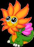 Flower Dragon Baby
