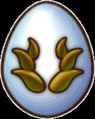 Snowy Bronze Dragon Egg