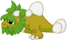 Moss Dragon Baby
