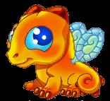 Amber Dragon Baby