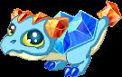 Topaz Dragon Baby