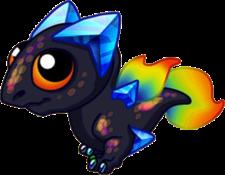 Prism Dragon Baby