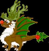 Reindeer Dragon Adult