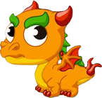 Pepper Dragon Baby