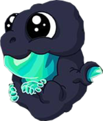 Geode Dragon Baby