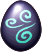 Chrome Dragon Egg